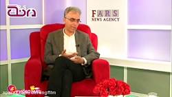 شوخی جالب مجری شبکه ۴ با مدیر شبکه ۴