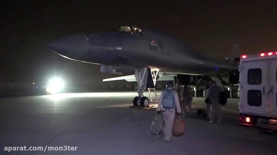 انتشار ویدیوی حمله موشکی آمریکا به سوریه
