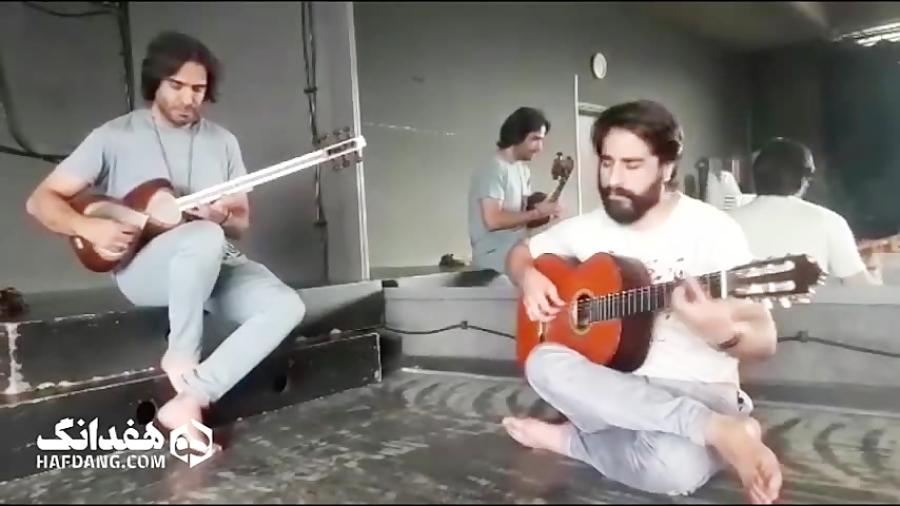 علی قمصری و هم نوازی تار و گیتار