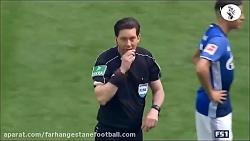 خلاصه بازی شالکه 2-0 بروسیا دورتموند