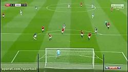 منچستر یونایتد 0 - 1 وست ...