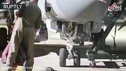 آماده سازی جنگنده های انگلیس قبل از بمباران سوریه