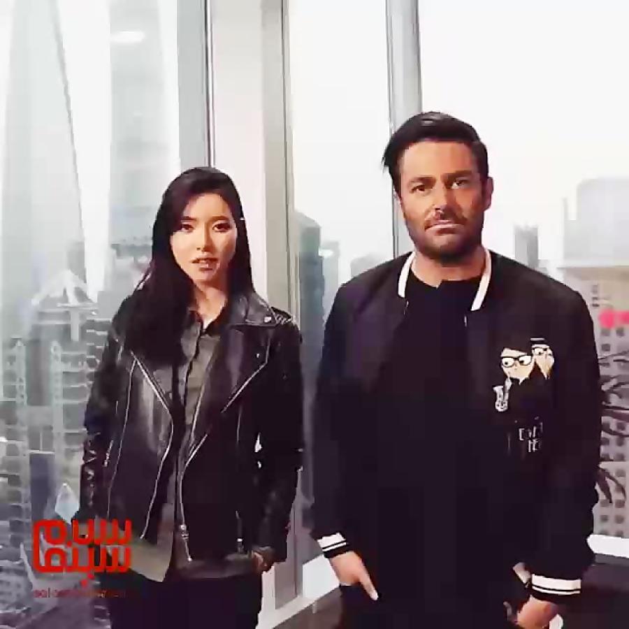 تست گریم بازیگران كره اى و چینى در ساخت ایران2