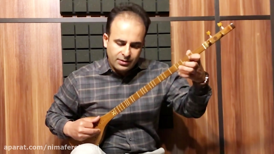فیلم آموزش پروانه دستگاه راست پنج گاه ردیف میرزا عبدالله نیما فریدونی سهتار