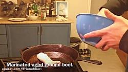 لذت آشپزی -چلو کباب اصل