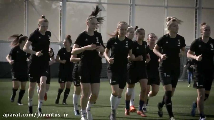 Juventus Women up and running in Continassa!