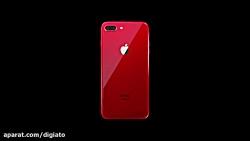 ویدیوی تبلیغاتی جدید اپل برای آیفون های ۸ و ۸ پلاس قرمز