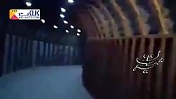 نخستین تصاویر تونل های تروریست ها در غوطه شرقی