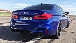 0-300 km/h: BMW M5 vs AMG E 63 S vs Porsch...