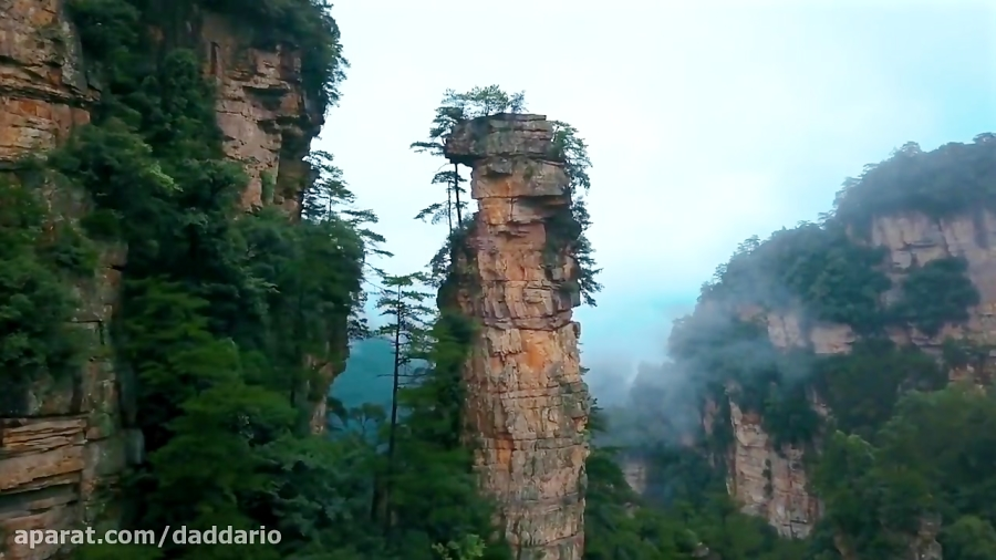 سفری شگفت انگیز به پارک ملی Zhangjiajie در چین