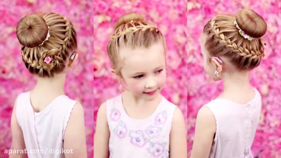 آموزش طراحی مدل موی کودکانه-دخترانه