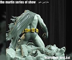 مجسمه کلکسیونی بتمن Batman و سوپرمن superman از کمپانی سایدشو sideshow collectib