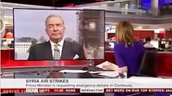 اخطار مجری BBC فرماندۀ س...