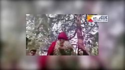 کتک زدن یک خانم توسط مامور گشت ارشاد نیروی انتظامی
