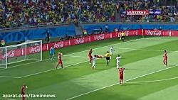 جام جهانی 2014 - ( بلژیک 2 - ...