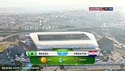 جام جهانی 2014 - ( برزیل 3 - ...