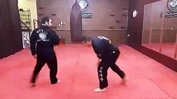 آموزش دفاع شخصی  در مشه...