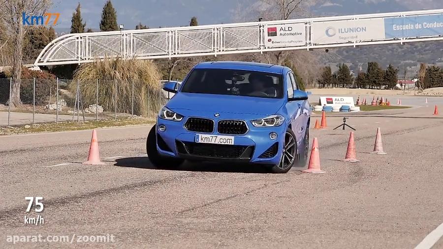 BMW X2   VolVo X40