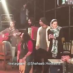 گیتارزدن شهاب حسینی