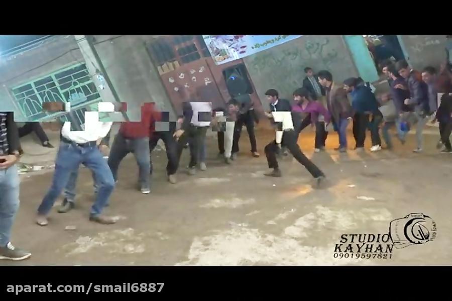 رقص محلی با آهنگ حمید هیراد