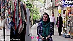 روز سعدی با سعدی در خیابانهای تهران
