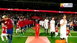 حواشی بازی بارسلونا - سویا (فینال کوپا دل ری)