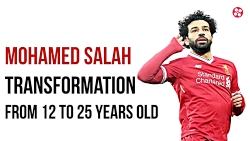 محمد صلاح از 12 تا 25 سالگی!