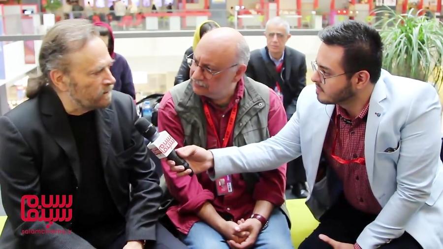 مصاحبه سلام سینما با فرانکو نرو و ترجمه بابک کریمی