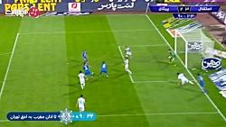خلاصه بازی استقلال 3-2 پیکان