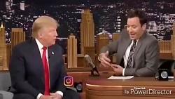 فحاشی میمون به ترامپ