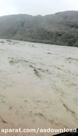 سیل و طغیان رودخانه اعلا در استان خوزستان -باغملک