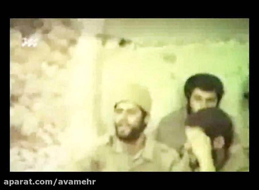 مداحی شهید مجید سیب سرخی در جبهه-دفاع مقدس