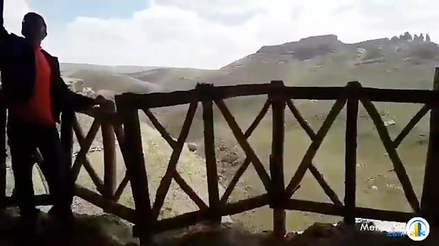 غار کرفتو، بزرگترین غار دست کند ایران در استان کردستان