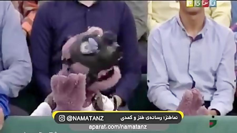 ماسک زدن جناب خان در خندوانه
