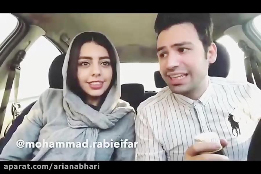 کلیپ های خنده دار  محمد ربیعی فر