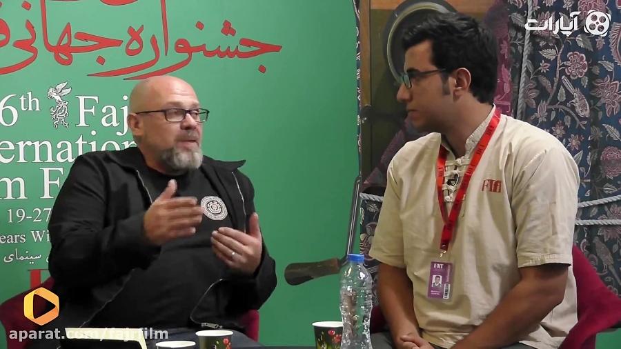 گفتگوی اختصاصی کارگردان taken درحاشیه جشنواره جهانی فجر