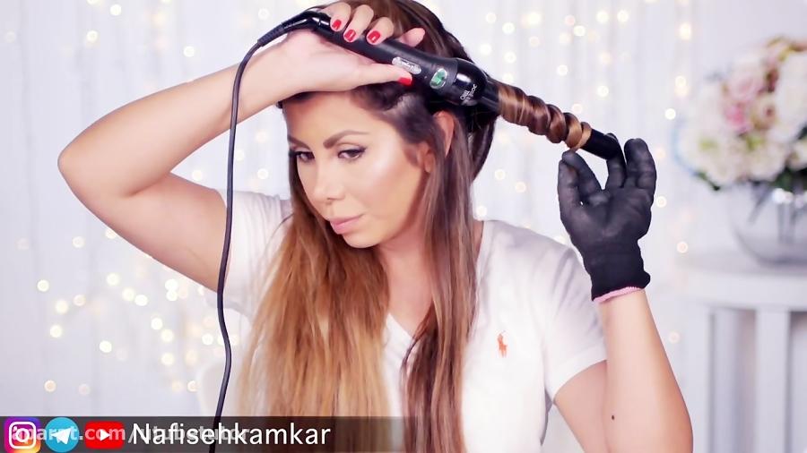 آموزش موی موجدار Wavy Hair