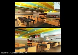 Fast Food Restaurant Interior Design Ideas...