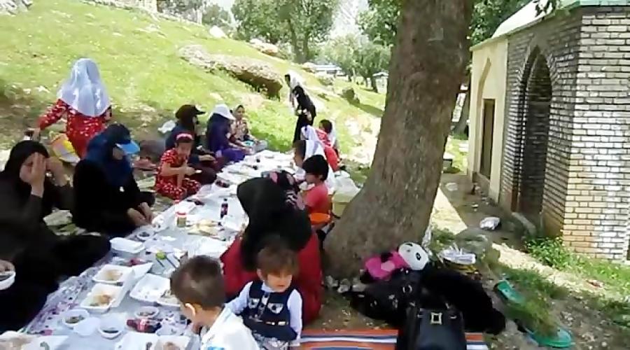 اردوی بهار 95 دبستان هوشمند غیردولتی دخترانه مهر کوهدشت