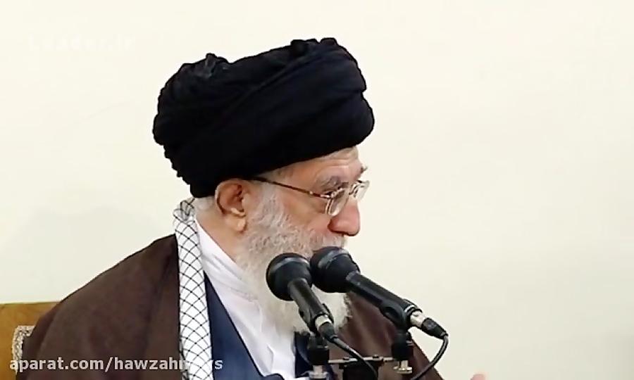 بیانات رهبری در دیدار دست اندرکاران همایش حکیم تهران
