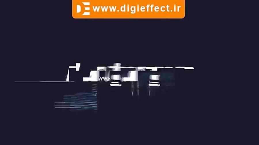 دانلود پروژه پریمیر لوگو Glitch Logo