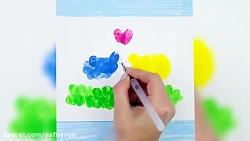 نقاشی های هیجان انگیز برای بچه های خلاق