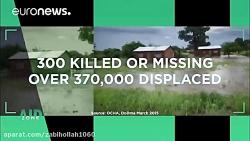 مالاوی؛ تکنولوژی پهپاد در خدمت آسیب دیدگان سیل