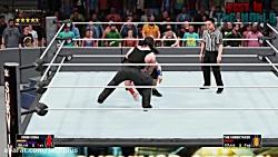 کشتی کج جان سینا و آندرتیکر در WWE 2K18