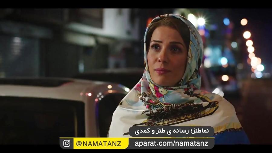 نماطنز | شماره دادن محسن کیایی به دختر پورشه سوار!