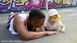 وقتی پدرها با بچه هاشون...