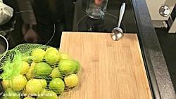 How To Make Sweet Preserved Lemon - آموزش درست کردن لیمو شکری
