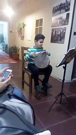 اجرای موسیقی