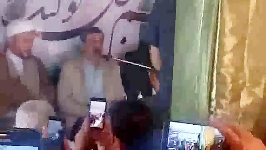 فیلم کامل سخنان دکتر احمدی نژاد در مراسم جشن نیمه شعبان