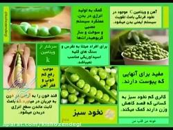 کیش و زندگی - خواص خوراکیها - نخود سبز - خوردنی